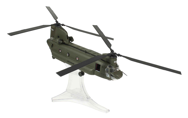 Boeing CH-47D Chinook 101st Airborne 2003 1/72 Scale By Forces of Valor Right Front View