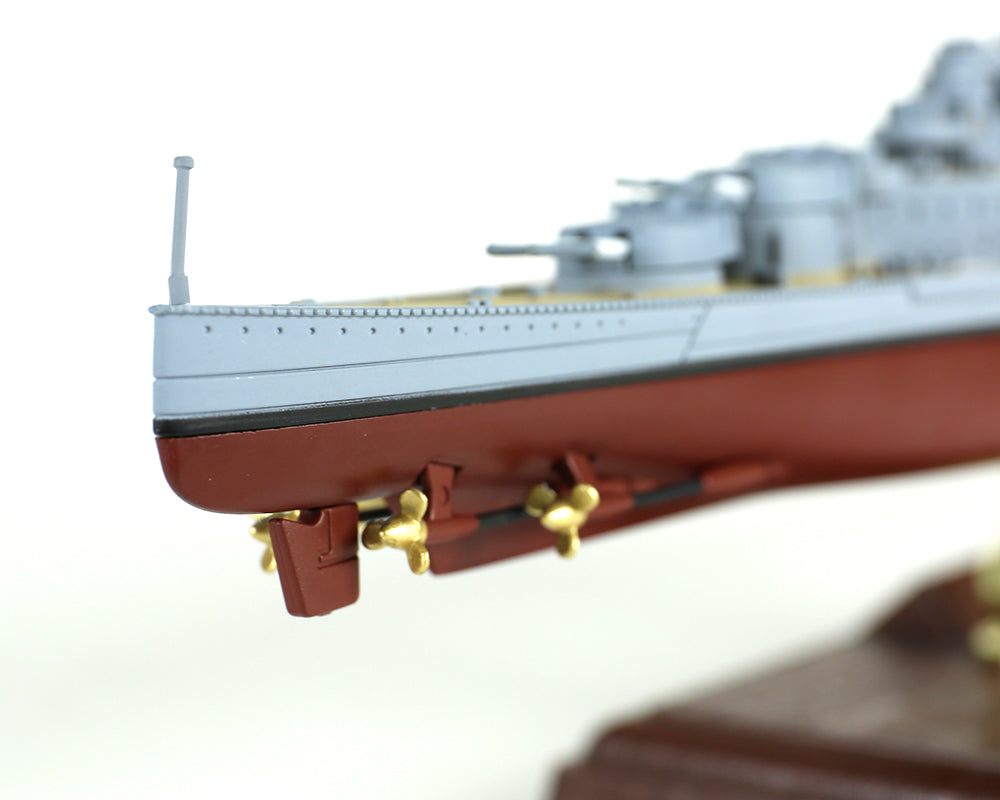 HMS Hood 1/700 Scale Model By Forces of Valor Aft View