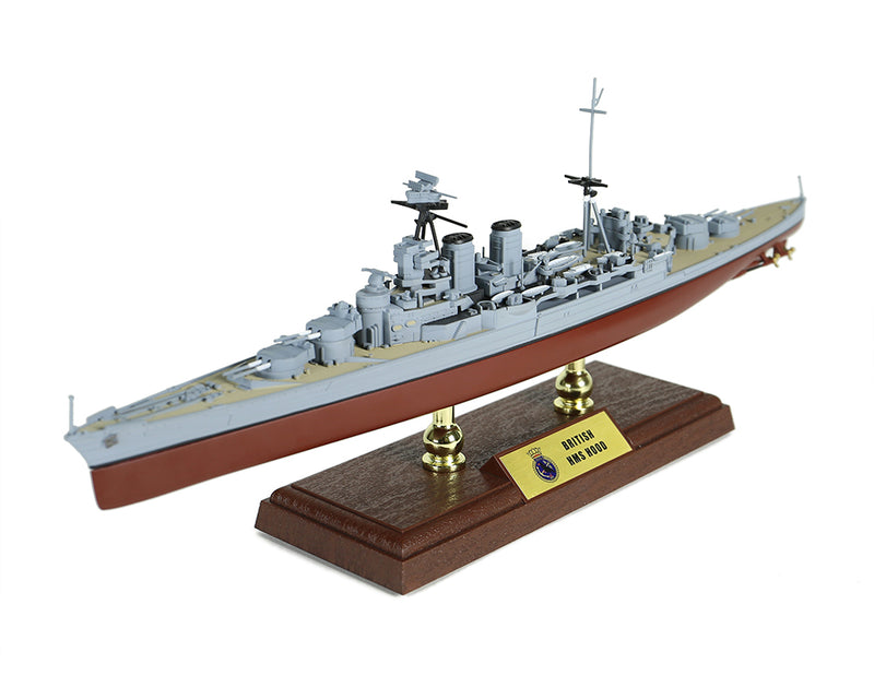 HMS Hood 1/700 Scale Model By Forces of Valor