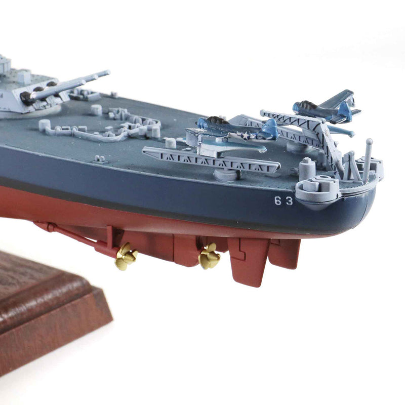 USS Missouri BB-63 1/700 Scale Model By Forces Of Valor Aft Detail View
