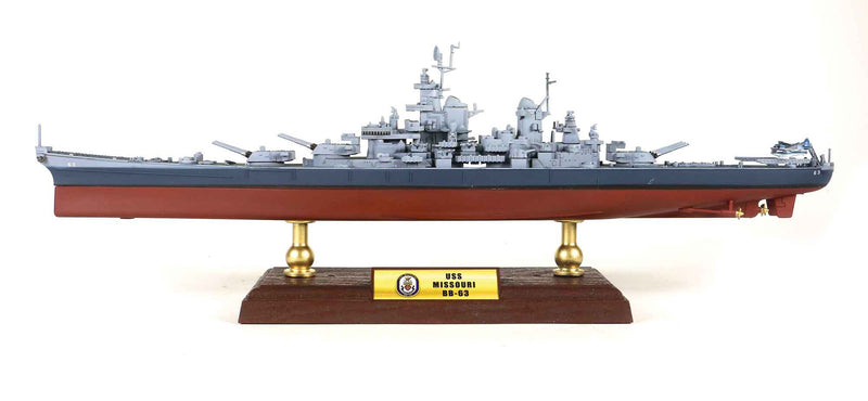 USS Missouri BB-63 1/700 Scale Model By Forces Of Valor