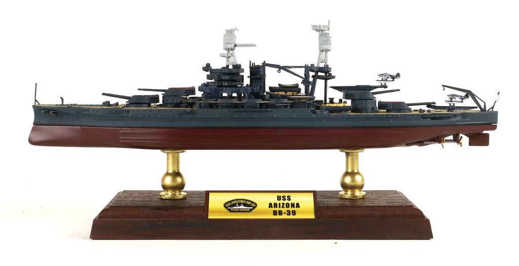 USS Arizona BB-39 1/700 Scale Model By Forces of Valor