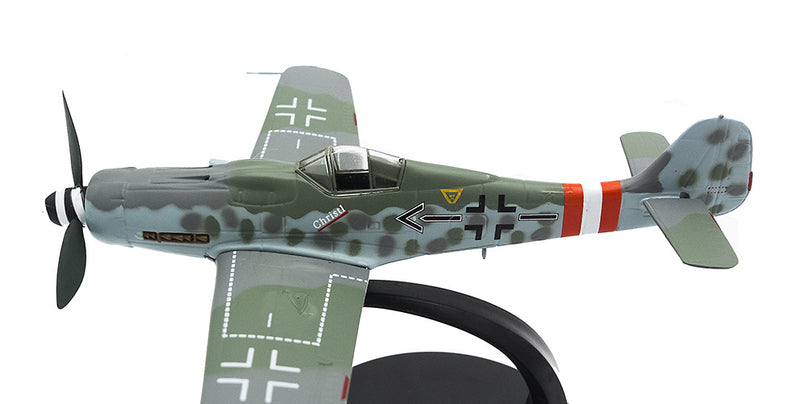 Focke-Wulf Fw 190D-9 Gerhard Barkhorn 1945,1:72 Scale Model By Atlas Editions Left Side View
