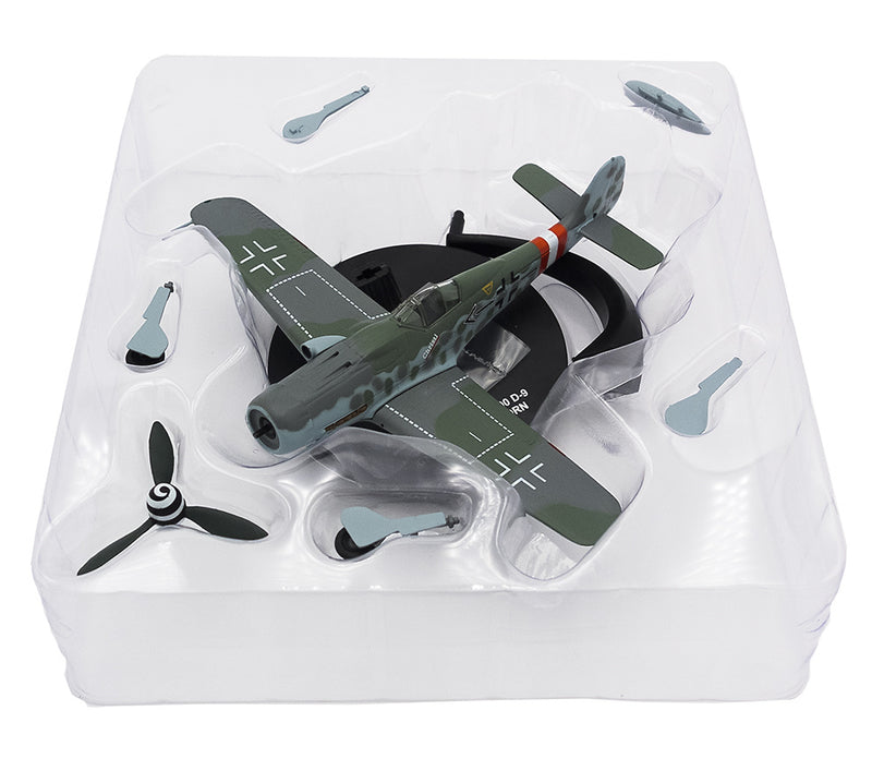 Focke-Wulf Fw 190D-9 Gerhard Barkhorn 1945,1:72 Scale Model By Atlas Editions In Packaging