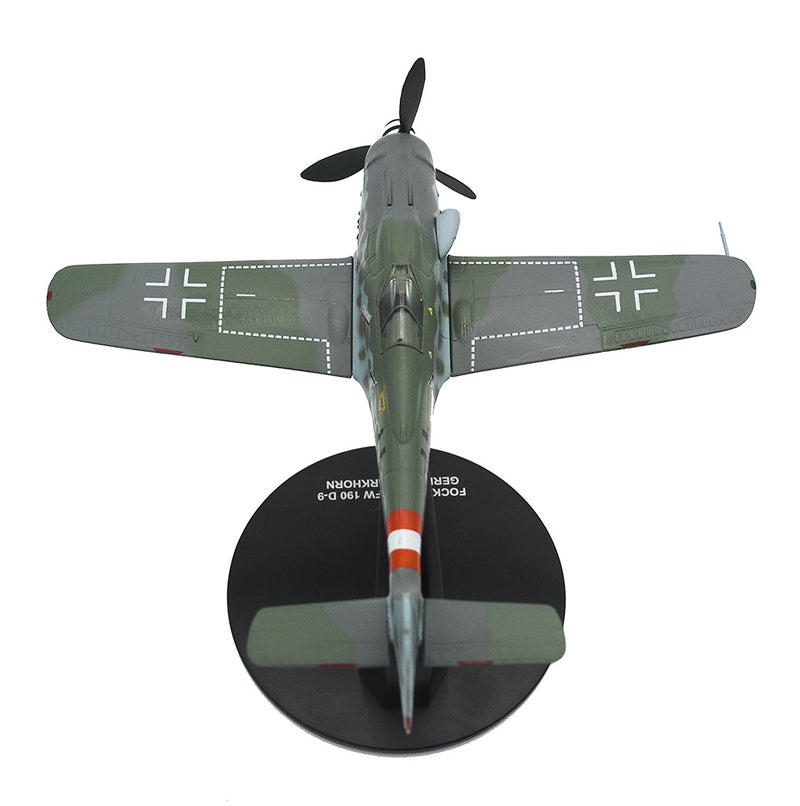 Focke-Wulf Fw 190D-9 Gerhard Barkhorn 1945,1:72 Scale Model By Atlas Editions Top Rear View