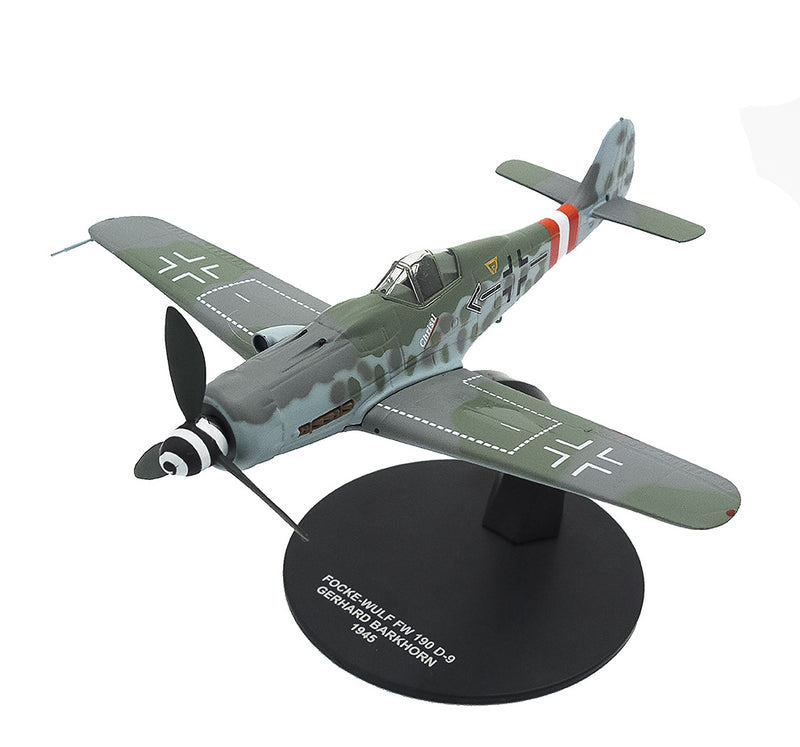 Focke-Wulf Fw 190D-9 Gerhard Barkhorn 1945,1:72 Scale Model By Atlas Editions
