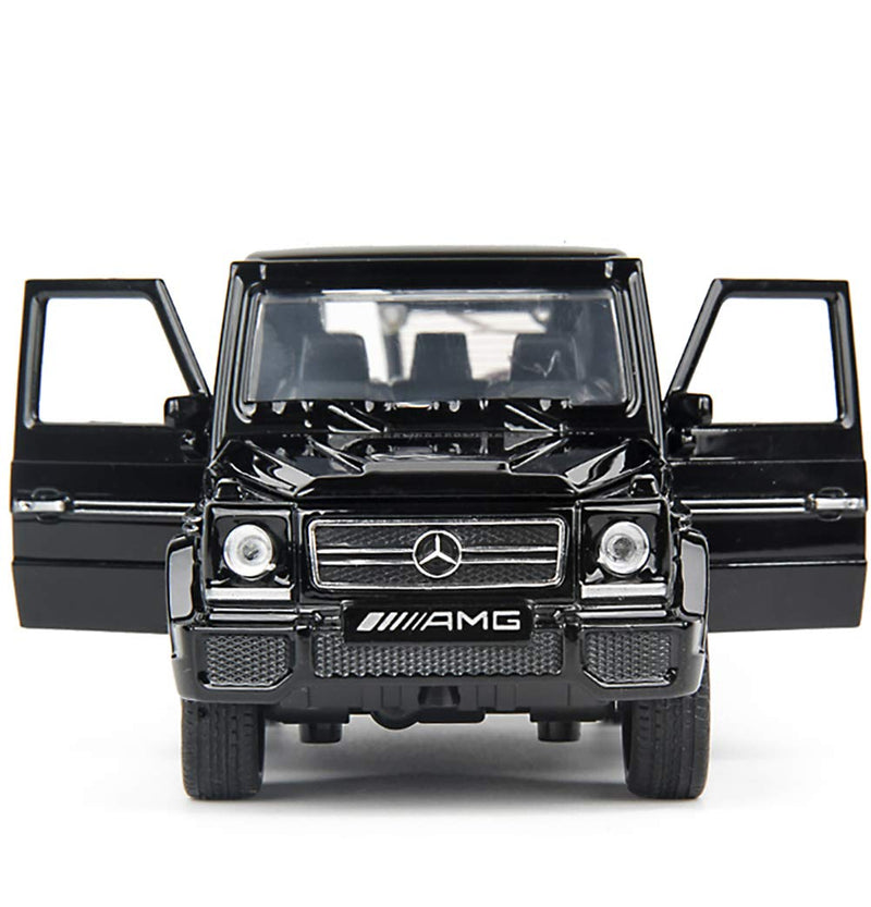 Mercedes-Benz G-Class G 65 AMG 1:32 Scale Model Car (Black) by Miniauto Front View