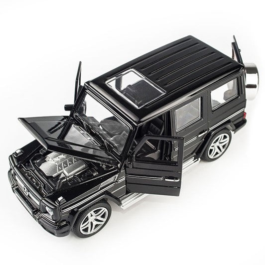 Mercedes-Benz G-Class G 65 AMG 1:32 Scale Model Car (Black) by Miniauto