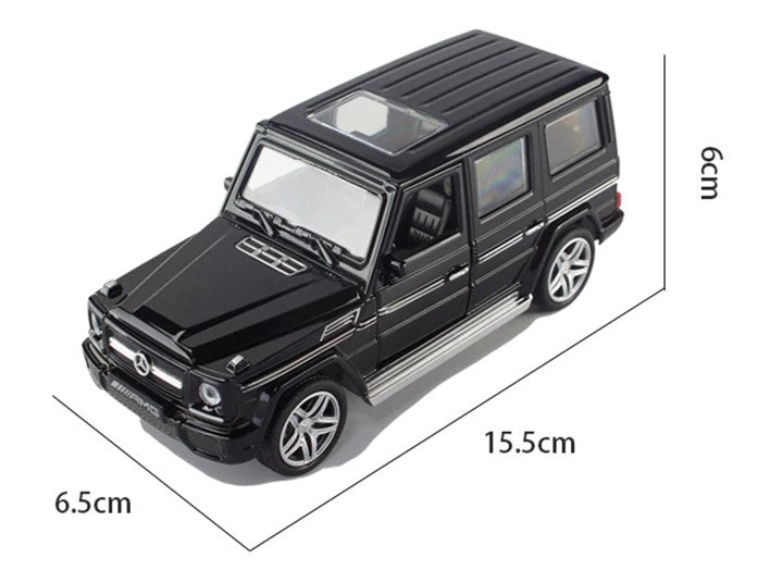 Mercedes-Benz G-Class G 65 AMG 1:32 Scale Model Car (Black) by Minocool (No Retail Box)