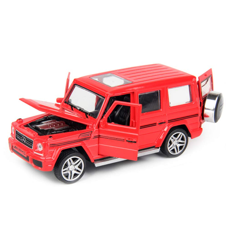 Mercedes-Benz G-Class G 65 AMG 1:32 Scale Model Car (Red) by Minocool (No Retail Box)