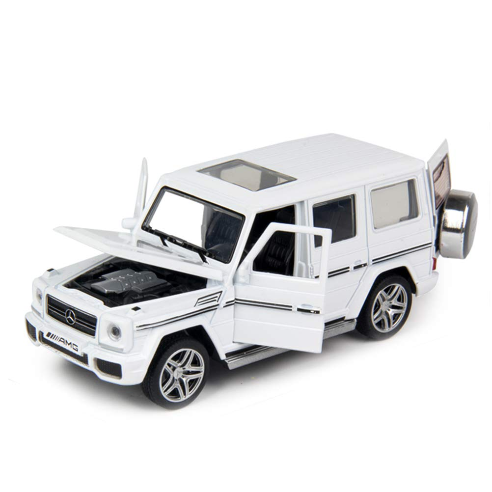 Mercedes-Benz G-Class G 65 AMG 1:32 Scale Model Car (White) by Minocool (No Retail Box)
