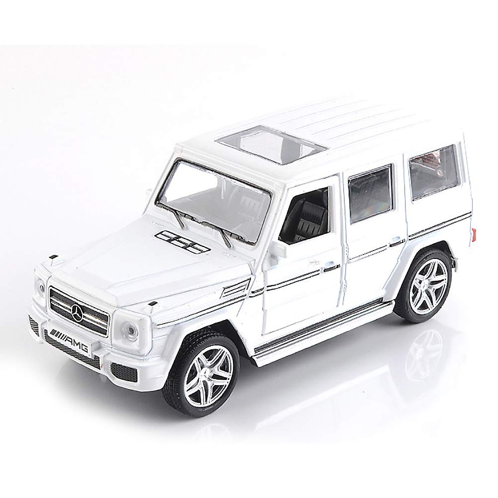 Mercedes-Benz G-Class G 65 AMG 1:32 Scale Model Car (White) by Minocool