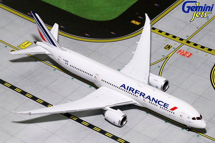 Boeing 787-9 Air France (F-HRBB) 1:400 Scale Model By Gemini Jets