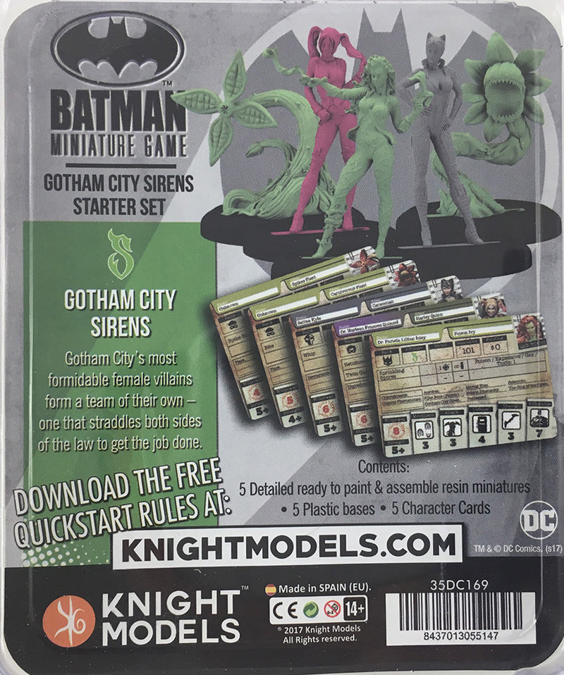 Gotham City Sirens Package Back