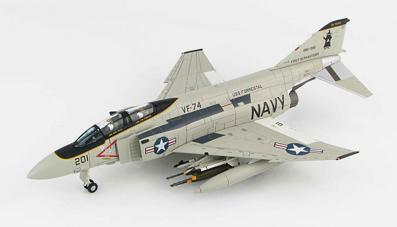 McDonald Douglas F-4E Phantom II VF-74 1/72 Scale Model By Hobby Master