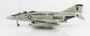 F-4E Phantom II VF-74 1981, 1/72 Scale Model By Hobby Master Left Front View