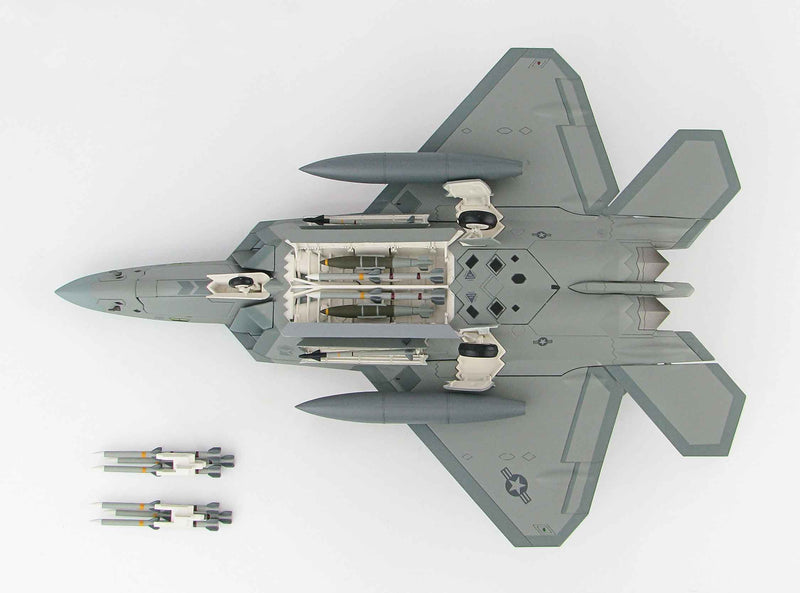 Lockheed F-22 Raptor 1/72 Scale Model By Hobby Master Weapons Bay