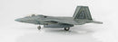 Lockheed F-22 Raptor 1/72 Scale Model By Hobby Master Left Side View