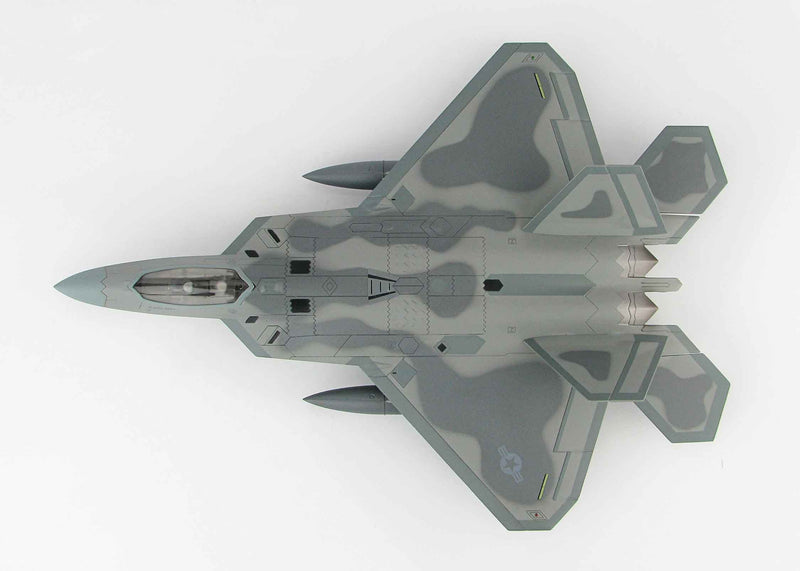 Lockheed F-22 Raptor 1/72 Scale Model By Hobby Master Top View