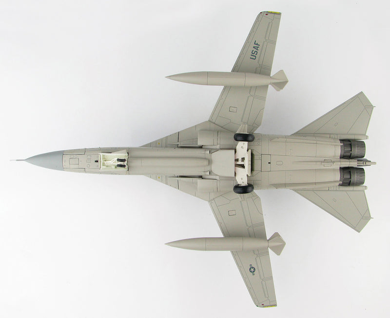 "General Dynamics EF-111A Raven, 390th ECS ""Wild Boars"", 1:72 Scale Model By Hobby Master Bottom View"