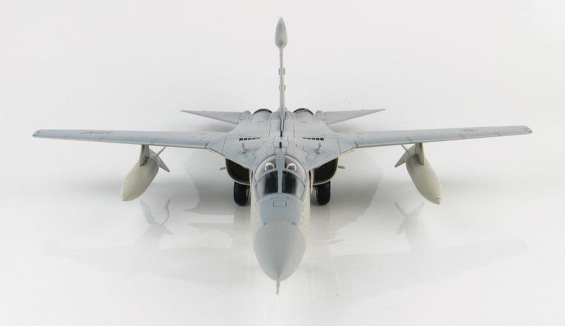 "General Dynamics EF-111A Raven, 390th ECS ""Wild Boars"", 1:72 Scale Model By Hobby Master Front View"