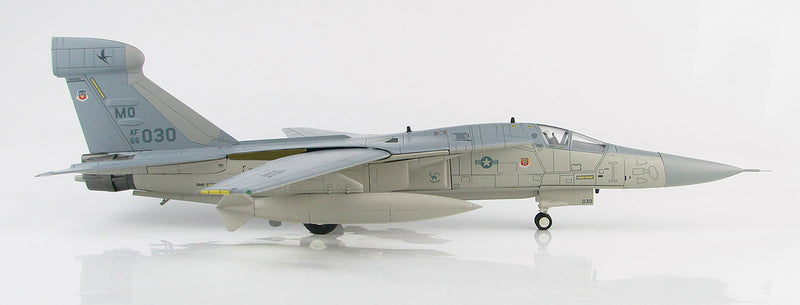 "General Dynamics EF-111A Raven, 390th ECS ""Wild Boars"", 1:72 Scale Model By Hobby Master Right Side View"