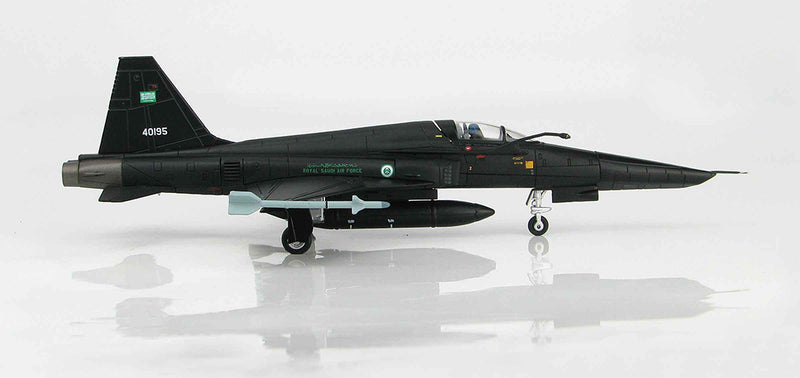Northrop Grumman RF-5E Tigereye Royal Saudi Air Force 1/72 Scale Model By Hobby Master Right Side View