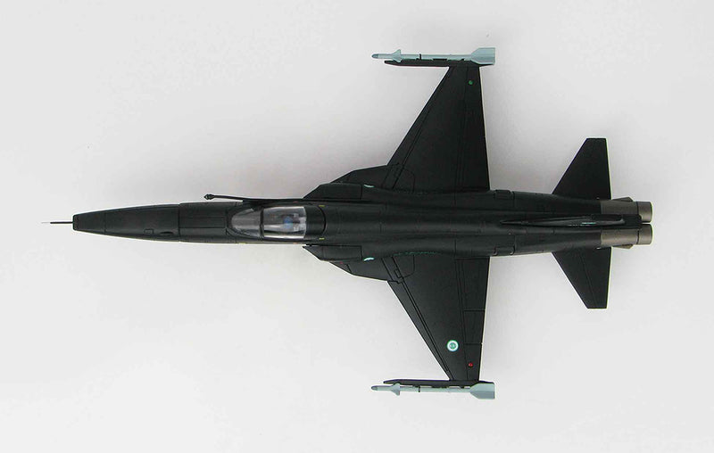 Northrop Grumman RF-5E Tigereye Royal Saudi Air Force 1/72 Scale Model By Hobby Master Top View