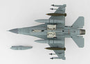 Lockheed Martin F-16A Fighting Falcon 174th TFW 1991, 1/72 Scale Model By Hobby Master Bottom View
