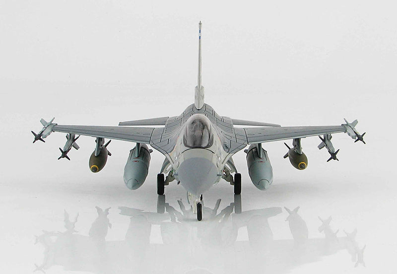 Lockheed Martin F-16A Fighting Falcon 174th TFW 1991, 1/72 Scale Model By Hobby Master Front View