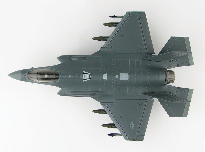 "Lockheed Martin F-35A Lightening II 4th FS ""Fightin Fuujins"" 1:72 Scale Diecast Model By Hobby Master Top View"