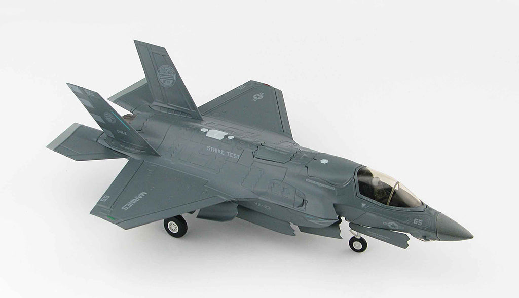Lockheed Martin F-35B Lightening II BF-05 1:72 Scale Diecast Model By Hobby Master Right Side View