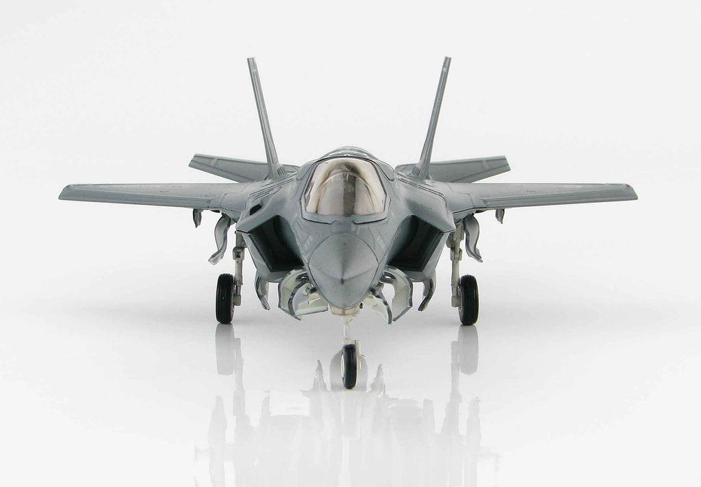Lockheed Martin F-35B Lightening II BF-05 1:72 Scale Diecast Model By Hobby Master Front View