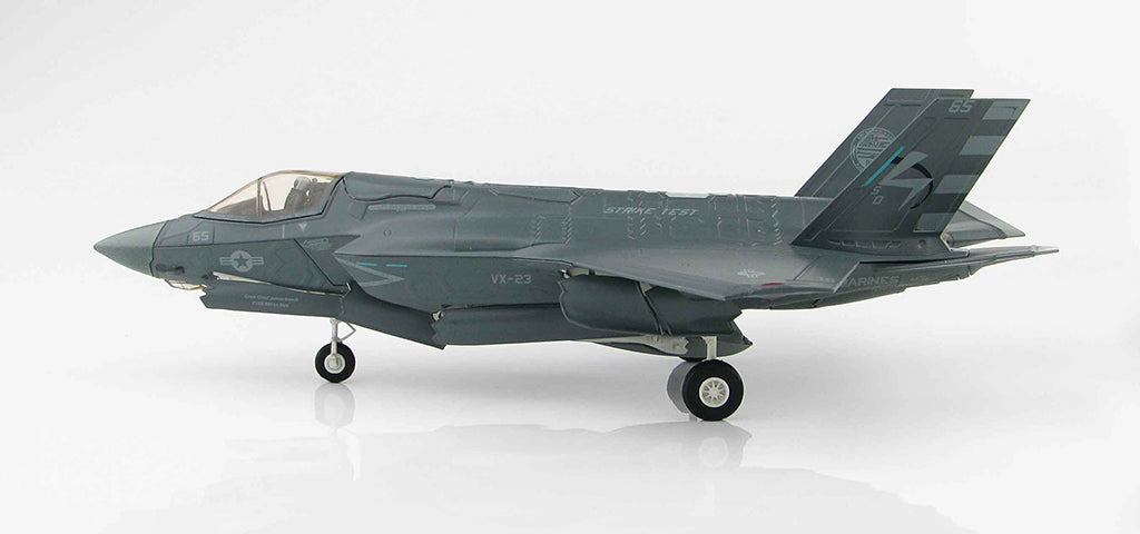 Lockheed Martin F-35B Lightening II BF-05 1:72 Scale Diecast Model By Hobby Master Left Side View