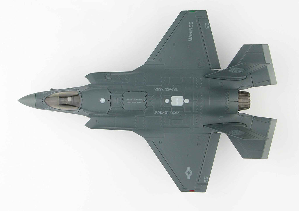 Lockheed Martin F-35B Lightening II BF-05 1:72 Scale Diecast Model By Hobby Master Top View