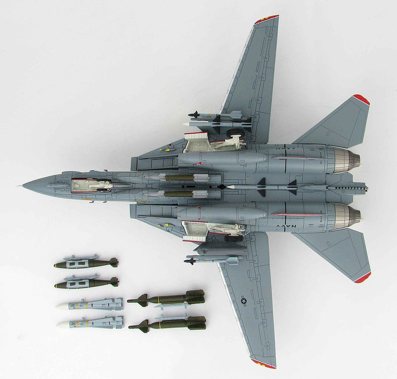 Grumman F-14A Tomcat, VF-14 1999, 1/72 Scale Model By Hobby Master Bottom View