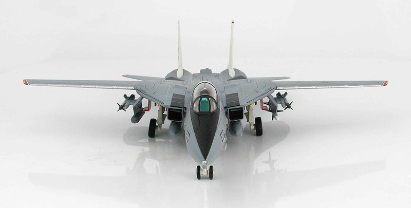 Grumman F-14A Tomcat, VF-14 1999, 1/72 Scale Model By Hobby Master Front View
