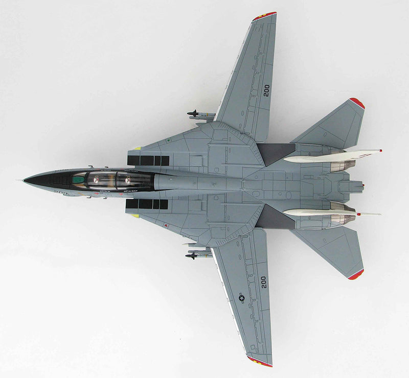 Grumman F-14A Tomcat, VF-14 1999, 1/72 Scale Model By Hobby Master Top View
