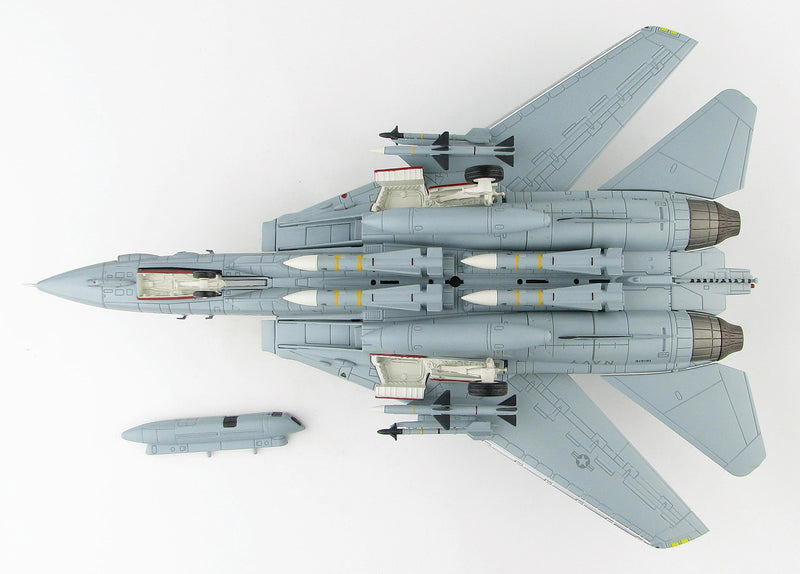"F-14A Tomcat VF-21 ""Freelancers"" 1/72 Scale Modely By Hobby Master Bottom View"