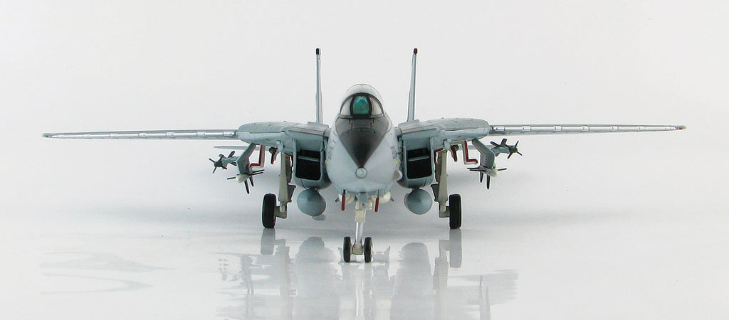 "F-14A Tomcat VF-21 ""Freelancers"" 1/72 Scale Modely By Hobby Master Front View"