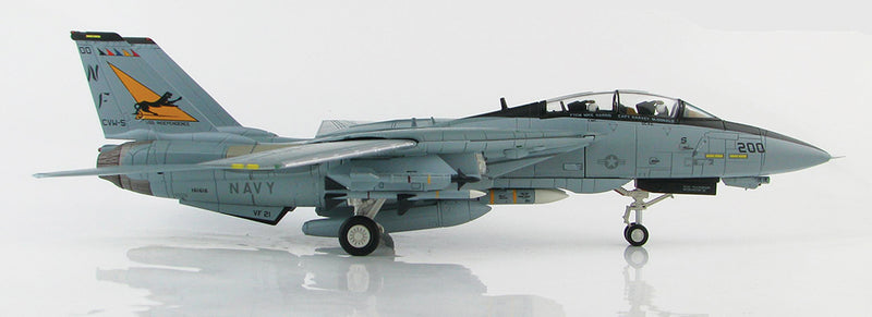 "F-14A Tomcat VF-21 ""Freelancers"" 1/72 Scale Modely By Hobby Master Right Side View"