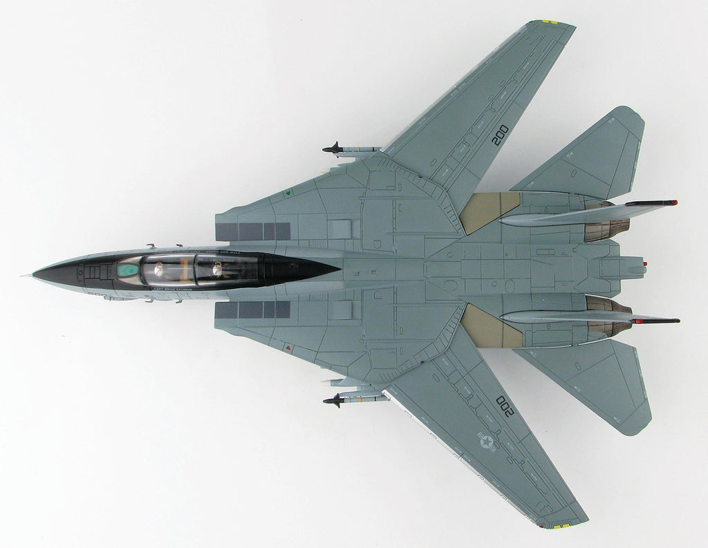 "F-14A Tomcat VF-21 ""Freelancers"" 1/72 Scale Modely By Hobby Master Top View"