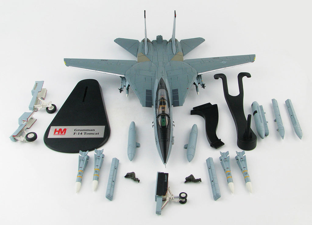 "F-14A Tomcat VF-21 ""Freelancers"" 1/72 Scale Modely By Hobby Master Kit View"