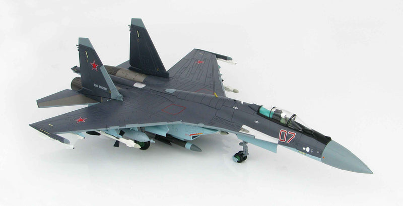 Sukhoi Su-35 Flanker E Russian Air Force 2012 1:72 Scale Diecast Model By Hobby Master