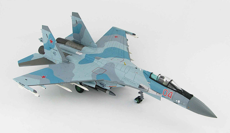 Hobby Master HA5705 Su-35 Flanker E Aktubinsk 2012 1/72 Scale Model Right Front