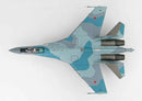 Hobby Master HA5705 Su-35 Flanker E Aktubinsk 2012 1/72 Scale Model Top View