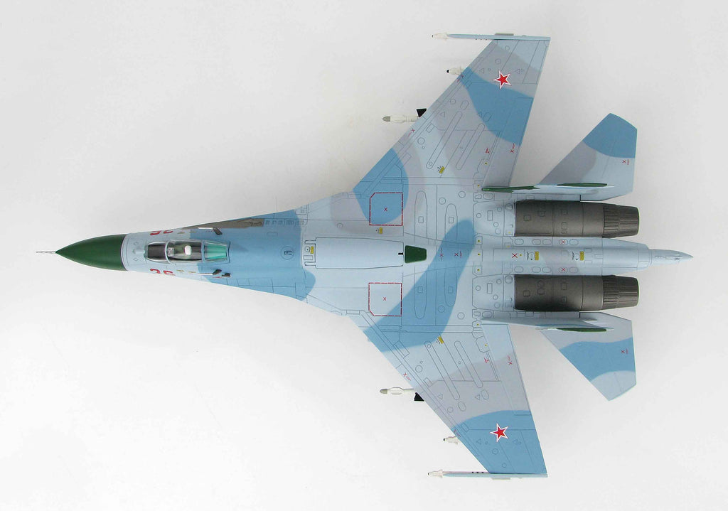 Sukhoi Su-27 Flanker B 1:72 Scale Diecast Model By Hobby Master