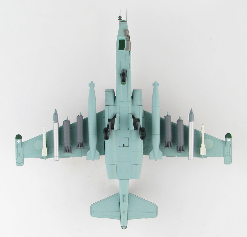 Sukhoi Su-25SM Frogfoot Russian Air Force Syria 2015 1:72 Scale Diecast Model By Hobby Master Bottom View