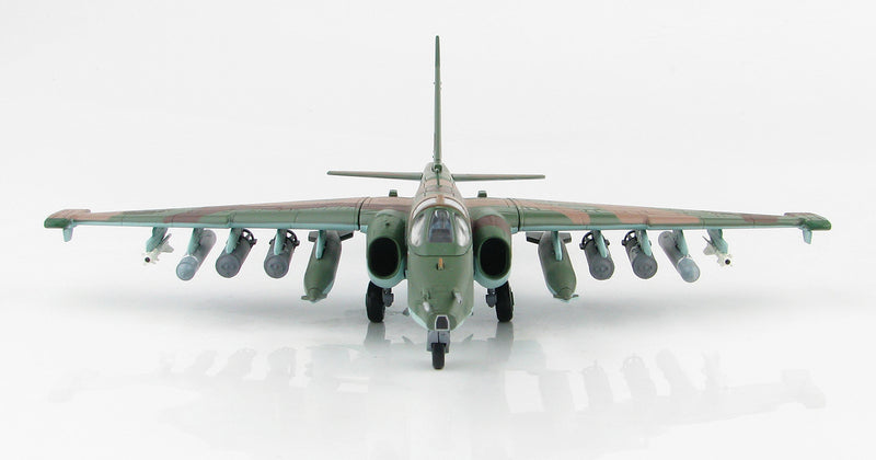 Sukhoi Su-25SM Frogfoot Russian Air Force Syria 2015 1:72 Scale Diecast Model By Hobby Master Front View
