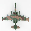 Sukhoi Su-25SM Frogfoot Russian Air Force Syria 2015 1:72 Scale Diecast Model By Hobby Master Top View